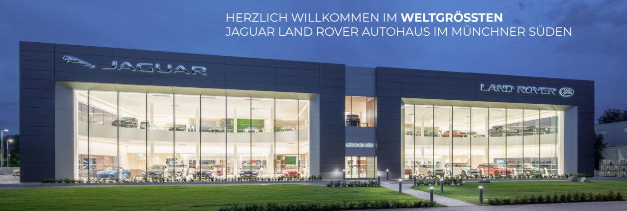 Größtes_Jaguar_Landrover_Autohaus_München_Süd
